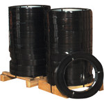 Black Steel Strapping - 2940 ft x 0.5 in - SHP-7176