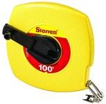 Starrett TS 100 ft Long Line Tape - 3/8 in Width - ABS Plastic - 30622