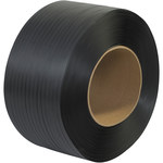Black Poly Strapping - 9000 ft x 0.5 in - SHP-7240