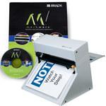 Brady Markware 20711 Cold Laminator, Software & Laminate Kit