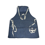 Chicago Protective Apparel Blue Denim Reusable Apron - 19 in Width - 26 in Length - 2426-BD