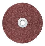 3M Cubitron II 982C Coated Ceramic Brown Quick Change Fibre Disc - Fiber Backing - 36 Grit - Very Coarse - 5 in Diameter - 27406