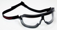 3M Fectoggles 16400-00000-10 Medium Polycarbonate Safety Goggles Clear Lens - Non-Vented - 078371-62321