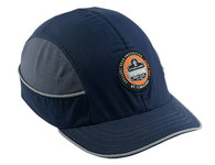 Ergodyne Skullerz 8950 Blue ABS Plastic Short Brim Bump Cap - 50 mm Brim - 720476-23353