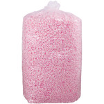 20 Cubic Feet Anti-Static Loose Fill Packing Peanuts, Pink - SHP-7832