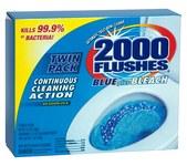 2000 Flushes Toilet Cleaner - 3.5 oz Powder - 20808