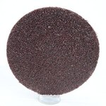 3M Roloc 361F Coated Aluminum Oxide Brown Quick Change Disc - Cloth Backing - YF Weight - 60 Grit - Medium - 2 in Diameter - 76806