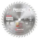 Amana Circular Saw Blade - 10 in Diameter - Carbide Tipped - PR1040