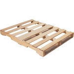 Shipping Supply Natural Wood Recycled Pallet - 48 in x 36 in - SHP-13028