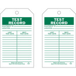 Brady 86513 Green on White Polyester / Paper General Inspection General Inspection Tag - 4 in Width - 7 in Height - B-837