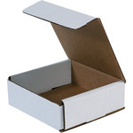 Oyster White Corrugated Mailer - 6 in x 6 in x 2 in - SHP-2518