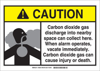 Brady B-302 Polyester Rectangle Yellow Chemical Warning Sign - 5 in Width x 3.5 in Height - Laminated - 106039