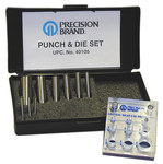 Precision Brand A-2 Steel Punch & Die Set - 40105