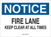 Brady B-302 Polyester Rectangle White Parking Restriction, Permission & Information Sign - 10 in Width x 7 in Height - Laminated - 122651