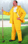 Dunlop Sitex 76554 Yellow Large Polyester/PVC Rain Pants - 30 in Inseam - 791079-12497