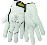Tillman TrueFit White Large Grain Goatskin Kevlar/Leather Welding Glove - 1488 L