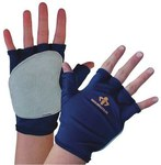 Impacto 501-10 XL Polycotton Spandex/Leather Fingerless Glove Liner - Right Hand Only - 501-10 XL RH