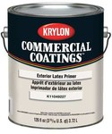 Krylon Commercial Coatings K1104 White Latex Paint Primer - 1 gal Pail - 00394