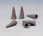 Standard Abrasives 701100 A/O Aluminum Oxide AO Tapered Cone Point - 2.5 in Length - 32847