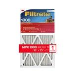 3M Filtrete 16 in x 25 in x 1 in 9801DC-6 MERV 11, 1000 MPR Air Filter - 09801