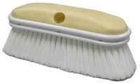 Weiler 448 Vehicle Wash Brush - White Polystyrene Bristle - Foam Block - 2 3/4 in Head Width - 44875
