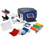 Brady Desktop Printer - 19 in Width - 10 in Max Label Width - 10 in Height - 12 in Length - 55515