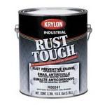 Krylon Industrial Coatings Rust Tough 90785 White Gloss Alkyd Enamel Paint - 1 gal Can - 49078