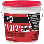 Dap 1012 Glazing Compound - Aluminum Gray 1 gal Tub - 12059