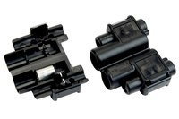 3M Scotchlok 901-POUCH Black Tap Connector - Tap Connector - 0.145 in Max Insulation Outside Diameter - 06106