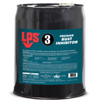 LPS LPS 3 31286 Brown Corrosion & Rush Inhibitor - Liquid 5 gal Pail - 00305