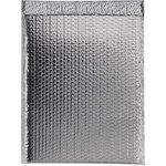 Shipping Supply Silver Glamour Bubble Mailers - 17.5 in x 13 in - SHP-3576
