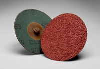 3M Cubitron II 982C Coated Ceramic Quick Change Fibre Disc - Fiber Backing - 36 Grit - Very Coarse - 4 in Diameter - 66780