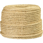 Natural Sisal Rope - 1/4 in Thick - SHP-9110