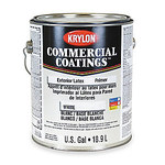 Krylon Commercial Coatings 28382 White Paint - 1 gal Can - 02838