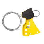 Brady Yellow Nylon Cable Lockout Device 45192 - 6 ft Length - 754476-45192