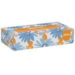 Kleenex White Facial Tissue - Box - 8.4 in Overall Length - 8 in Width - 03076