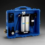 3M 256-02-00 Blue PAPR & SAR Air Filtration Panel - 50 cfm Max Air Flow - Portable - 051138-66307
