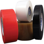 Polyken Berry Global 827 Black Polyethylene Film Masking Tape - 1 1/2 in Width x 72 yd Length - 827 1.5 X 72YD BLACK