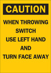 Brady B-120 Fiberglass Reinforced Polyester Rectangle Yellow Electrical Safety Sign - 7 in Width x 10 in Height - 65575