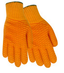 Red Steer 1145 Orange Large Cotton/Synthetic Work Gloves - PVC Full Coverage Coating - 1145-L