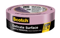 3M Scotch 2080 Delicate Surface Purple Painter's Tape - 1.88 in Width x 60 yd Length - 79750