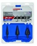Lenox Step Drill Bit Set - LXA30930