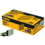 Dewalt 1 1/2 in Steel 15 1/2 ga Flooring Staples - Chisel Point - 1/2 in Crown - DWCS1512-7