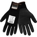 Global Glove Samurai PUG555 Black Small Taeki 5 Cut-Resistant Gloves - ANSI 4 Cut Resistance - Polyurethane Palm & Fingers Coating - PUG555/SM