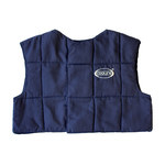 PIP E-Cooline 390-10 Blue Large Polyester Cooling Vest - Soak in Cold Water - Fits 41.7 in Chest - 426020-31929
