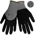 Global Glove Tsunami Grip 530MFG Black/Gray 9 Nylon Work Gloves - Nitrile Full Coverage Coating - 530MFG/9