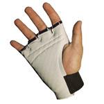 Impacto 450-30 RH Black/White Medium Leather/Visco-Elastic Polymer Work Glove - 45030110032