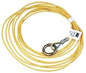 DBI-SALA Yellow Polypropylene Tagline - 3/16 in Width - 25 ft Length - 840779-08101