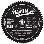 Amana Mamba Circular Saw Blades - 10 in Diameter - Carbide Tipped - MA10060