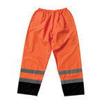 PIP 318-1757OR Black/High-Visibility Orange Large Polyester High-Visibility Pants - 2 Pockets - 45.7 in Outseam Length - 616314-08222